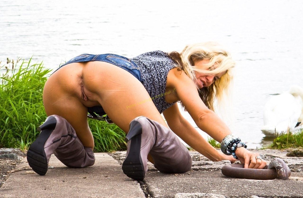 donna matura culo nudo