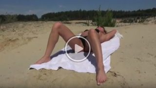 Sesso anale in spiaggia